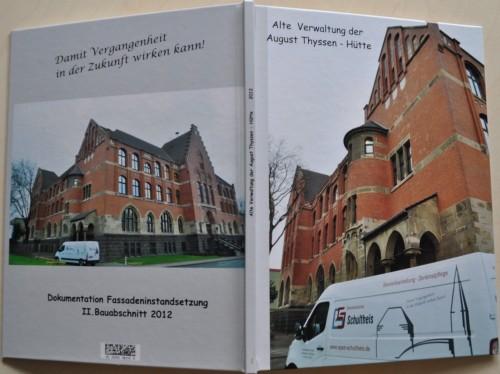 Alte Verwaltung der August Thyssen-Hütte, Duisburg II. Bauabschnitt 2012